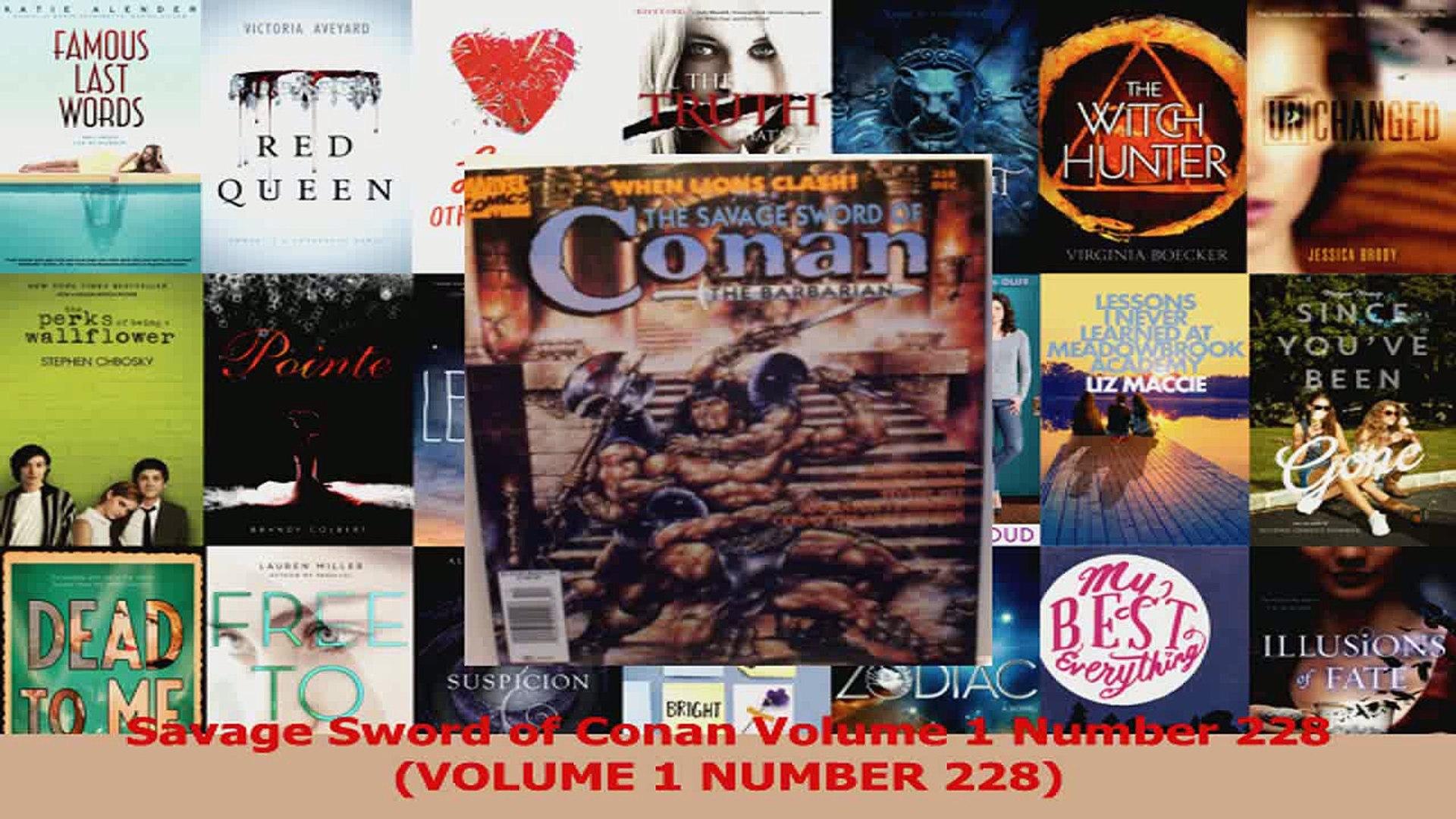Read  Savage Sword of Conan Volume 1 Number 228 VOLUME 1 NUMBER 228 PDF Free