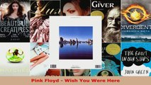 Read  Pink Floyd  Wish You Were Here Ebook Free