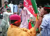 Child Dancing In Pti Raily