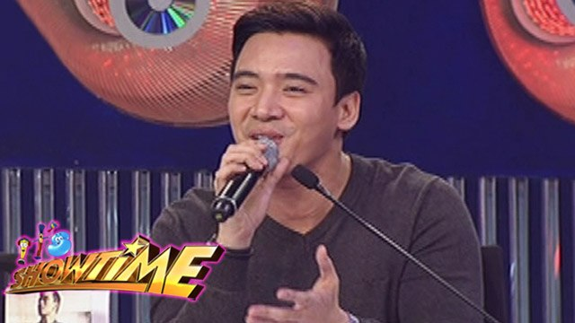 It's Showtime: Erik Santos sings on It's Showtime