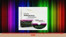 Read  Create Interactive Documents using Adobe InDesign CS5 Ebook Free