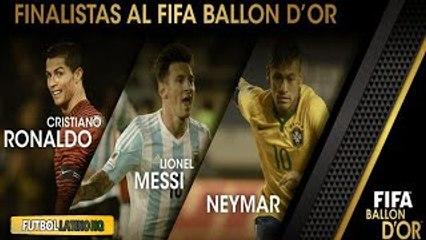 Cristiano Ronaldo, Messi y Neymar, Nominados al Balón de Oro 2015