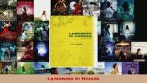Read  Lameness in Horses Ebook Free