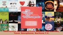 PDF Download  500 Hymns for Instruments Book A  Bb Clarinet Tenor Saxophone Baritone TC PDF Online