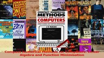 Read  Compact Numerical Methods for Computers Linear Algebra and Function Minimisation Ebook Free