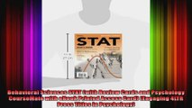 Behavioral Sciences STAT with Review Cards and Psychology CourseMate with eBook Printed
