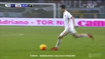 0-1 Miralem Pjanić Fantastic Free-Kick Goal _ Torino v. Roma - 05.12.2015 HD