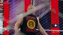W.W.E ENTERTAINMENT-John Cena vs. Seth Rollins - Steel Cage -WRESTLE MANIA
