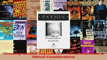 Choosing Assisted Reproduction Social Emotional  Ethical Considerations PDF