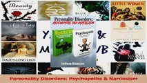 Personality Disorders Psychopaths  Narcissism Download