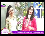 Nadia khan Show on Geo TV - 7th December 2015 - Part 1