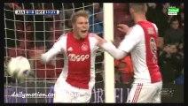 Viktor Fischer Goal - Ajax 1-0 Heerenveen - 05-12-2015 Eredivisie