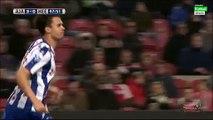 Mitchell te Vrede Goal - Ajax 3-1 Heerenveen - 05-12-2015 Eredivisie