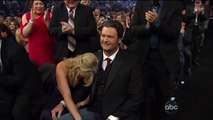 Blake Shelton Miranda Lambert - Win Song Of The Year Over You - CMA Awards 2012