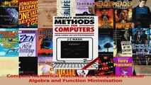 Read  Compact Numerical Methods for Computers Linear Algebra and Function Minimisation Ebook Online