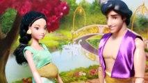 Princess Jasmine PREGNANT Barbie Parody Story Disney Frozen Elsa Friend Aladdin Pregnancy Story