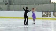 SAUNDERS/ODDSON Pre Nov Pattern Dance 1