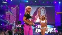 WWE Kelly Kelly, Natalya and Michelle McCool, Layla show
