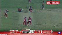 Dunya News_ Ahmad Shehzad furious run out creates a pause of 5 minutes during BPL match.