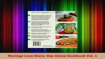 Moringa Love Story Das Grüne Kochbuch Vol 1 PDF Herunterladen