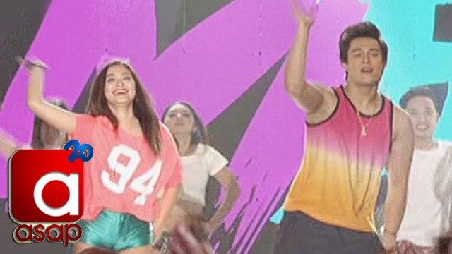 "ASAP:  Maja, Enrique in ""Hula Hoop"" dance showdown"