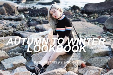 Autumn to Winter Outfits LookBook 秋冬穿搭