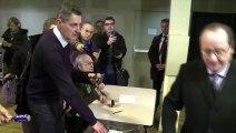 Élections régionales : François Hollande et Marine Le Pen ont voté
