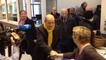 Jean-Yves Le Drian a voté ce matin à Guidel