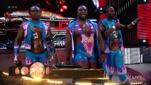 Reigns, Ambrose & The Usos vs. Sheamus, Barrett, Rusev, Del Rio & New Day- Raw, Nov. 30, 2015
