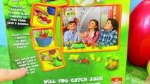 Jumping Jack Pop Rabbit Kids Board Game ❤ Bunny Surprise Eggs, Blind Bags & Frozen Elsa Ba