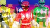 Power Rangers DIno Charge Rumble And Roar T-Rex Zord Battles Imaginext Rita Repulsa & Gold