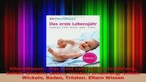 ElternWissen  Das erste Lebensjahr Ernährung Schlaf Wickeln Baden Trösten Ernährung PDF Herunterladen