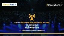 Soirée Electorale 1er Tour des élections régionales Provence-Alpes-Côte d'Azur