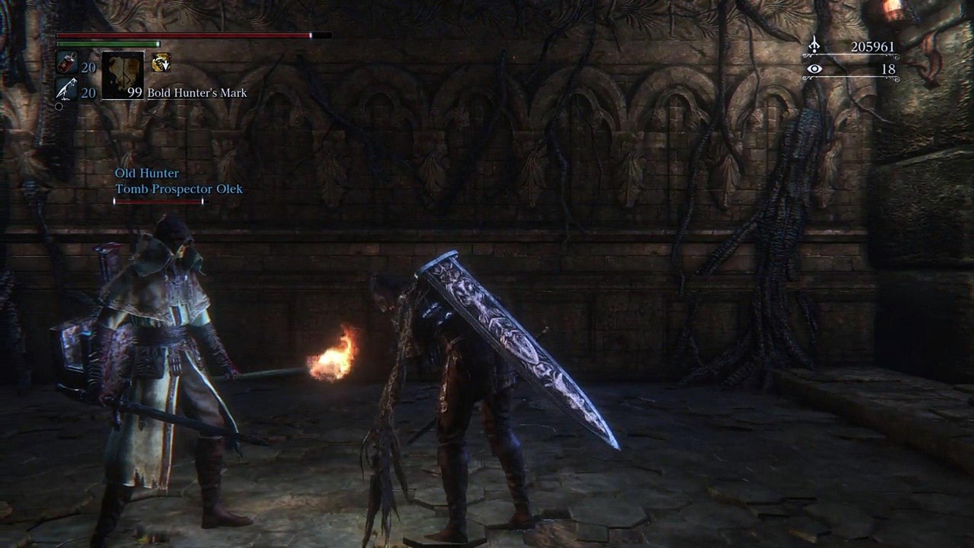 Yharnam, Pthumerian Queen Boss Fight (Bloodborne's Final Hidden Boss)