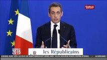 Régionales 2015 : Nicolas Sarkozy refuse « toute fusion et tout retrait de liste » pour le second tour