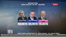 Régionales 2015 : les estimations au 1er tour en Nord-Pas-de-Calais-Picardie