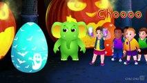 Halloween Surprise Eggs  Halloween Trick or Treat Costumes  Spooky Halloween Surprise