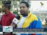 Chavismo y opositores llaman a sumar votos al cierre de la elección