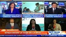 """'Tuto' Quiroga denuncia que oposición venezolana ha sido """"invisibilizada"""" en los medios durante parlamentarias"""