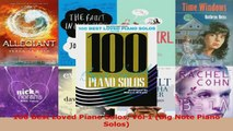 Read  100 Best Loved Piano Solos Vol 1 Big Note Piano Solos PDF Free