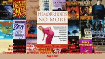 Download  Hemorrhoids No More The Complete Guide On Hemorrhoids Causes  Symptoms Hemorrhoids PDF Free