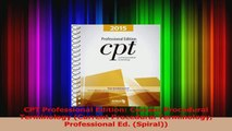 PDF Download  CPT Professional Edition Current Procedural Terminology Current Procedural Terminology Download Full Ebook