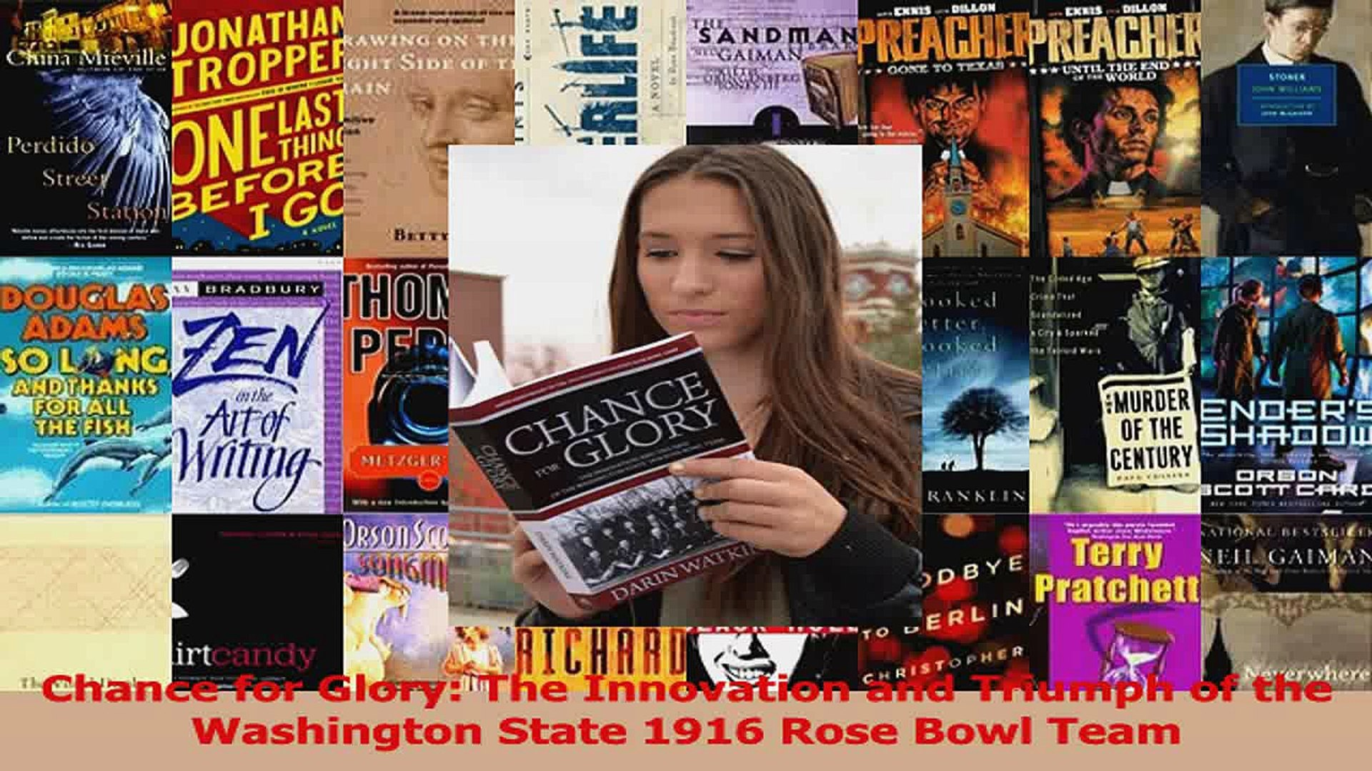 Read  Chance for Glory The Innovation and Triumph of the Washington State 1916 Rose Bowl Team Ebook
