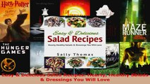 Read  Easy  Delicious Salad Recipes Hearty Healthy Salads  Dressings You Will Love EBooks Online