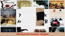 PDF Download  Michaël Borremans Weight Download Online