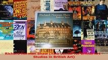 PDF Download  Richard Norman Shaw Yale Center for British Art Studies in British Art Download Online