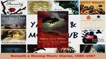PDF Download  Beneath a Waning Moon Diaries 19851987 PDF Online