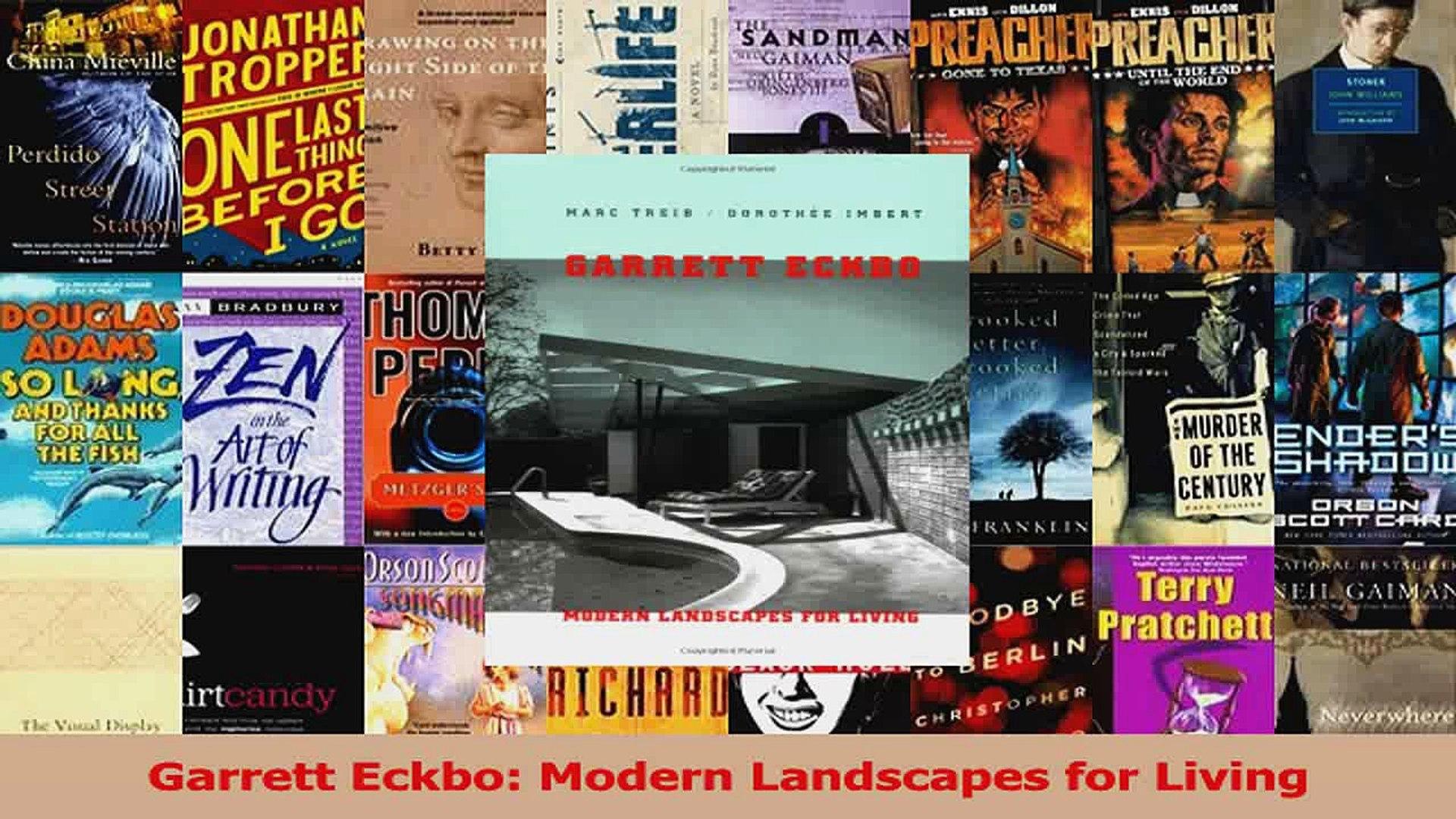 Pdf Download Garrett Eckbo Modern Landscapes For Living Download