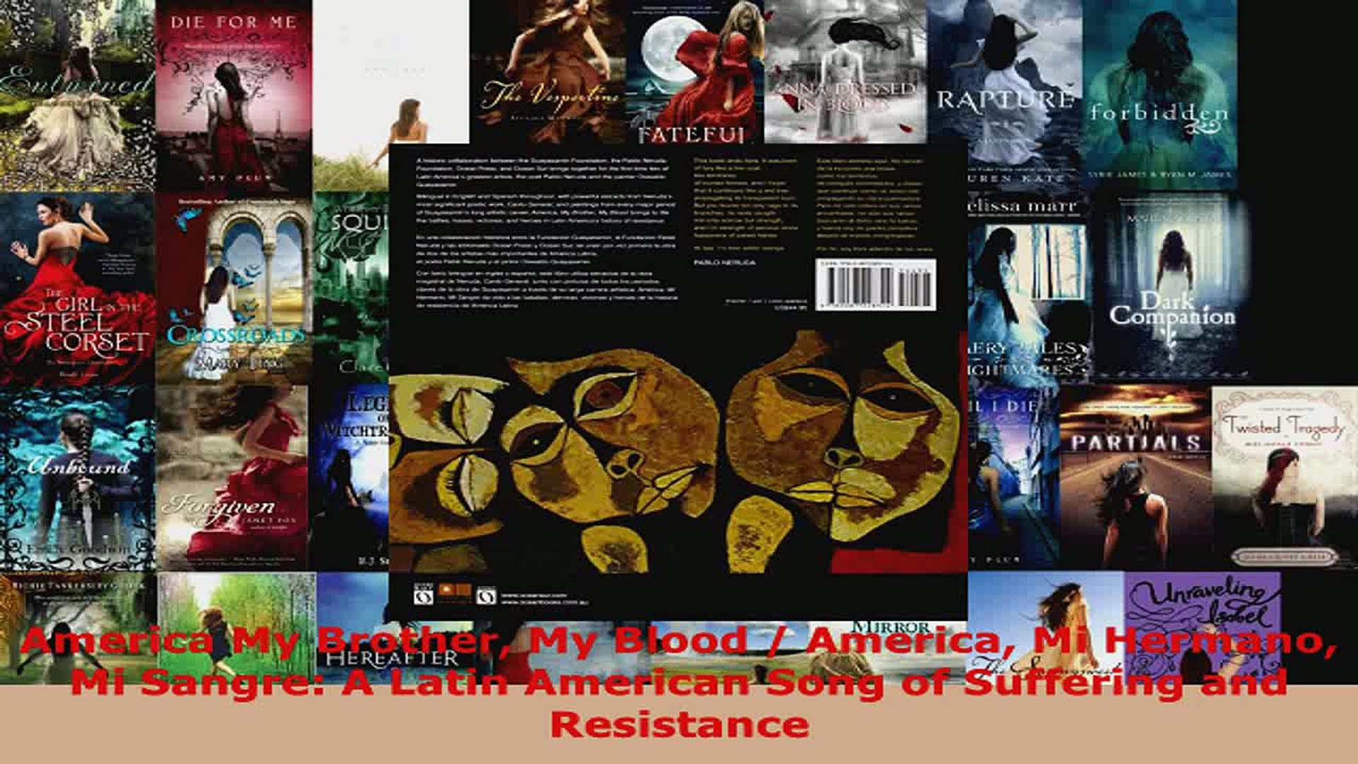 Read  America My Brother My Blood  America Mi Hermano Mi Sangre A Latin American Song of EBooks Onli