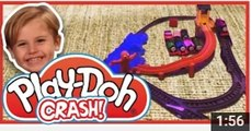 PLAY DOH CRASH - Thomas & Friends trackmaster toy JUDES TRAIN VIDEOS